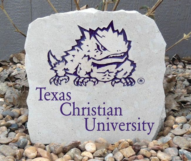 tcu porch stone