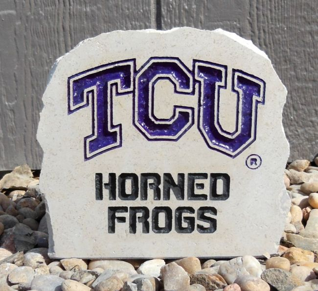 tcu horned frogs small