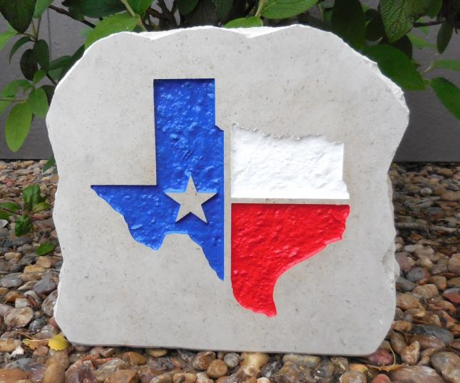 state of texas desk stone