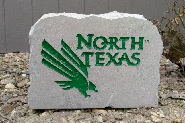 11x8in university of north texas porch sign