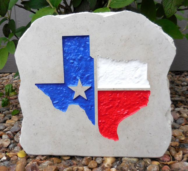 state of texas porch stone