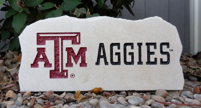 a&m porch stone