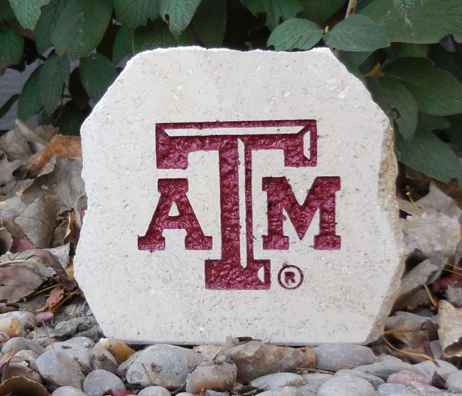 texas a&m small desk stone