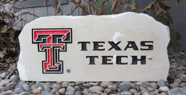 texas tech porch stone