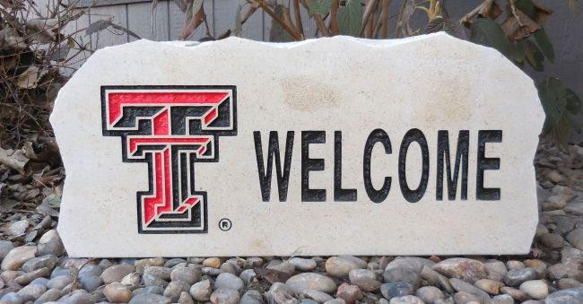 texas tech welcome stone