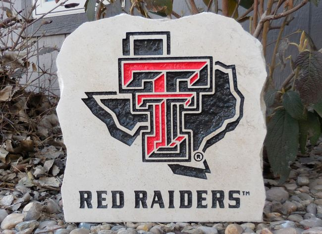 11in texas tech porch stone