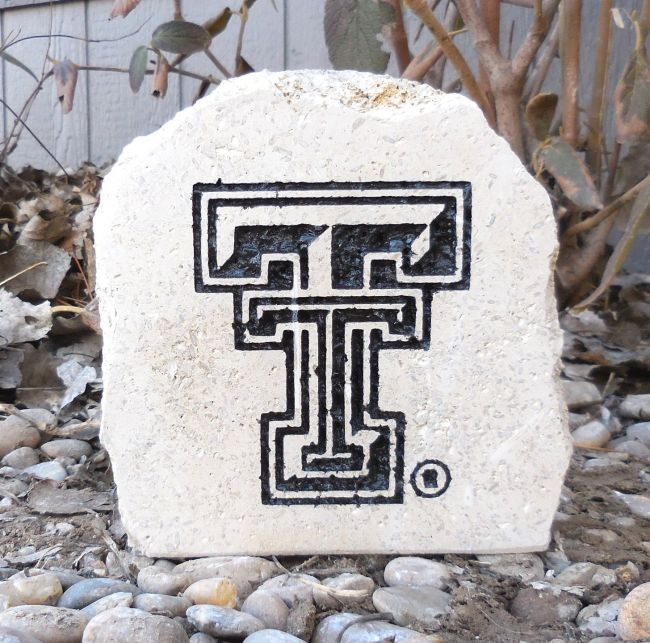 ttu small desk stone