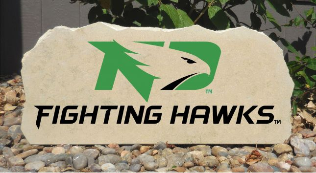 fighting hawks porch stone