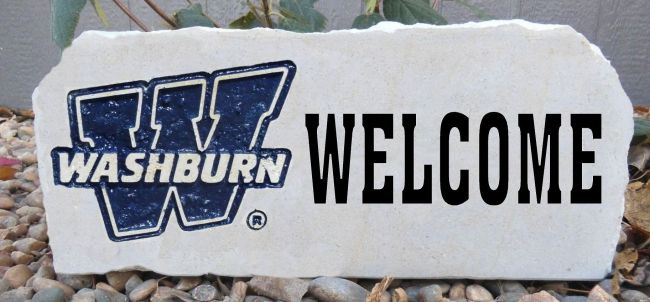 washburn welcome stone