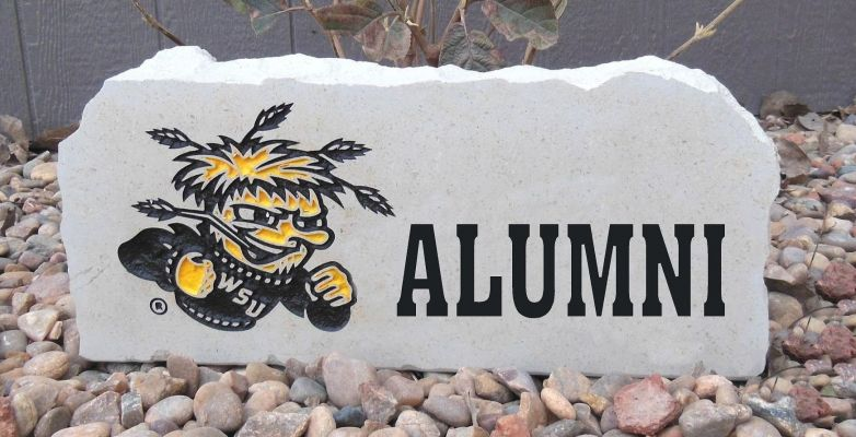 shocker alumni porch stone
