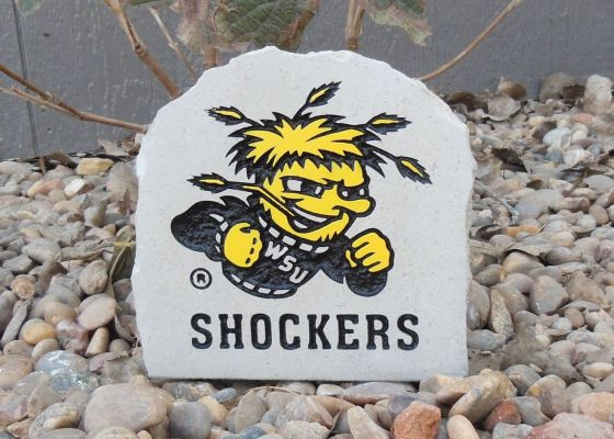 shockers desk stone