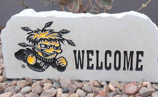 shocker welcome porch stone