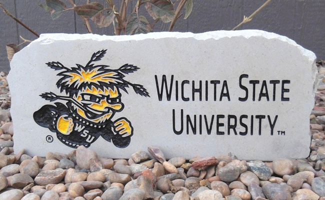 wichita state university porch stone