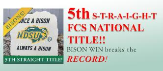 NDSU FCS National Champs