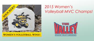 WSU Womens Volleyball MVC Champions
