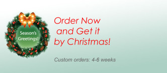 Order now and get it by Christmas!